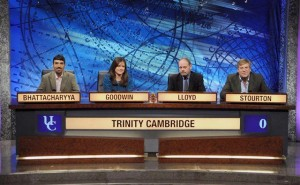 Daisy Goodwin on University Challenge